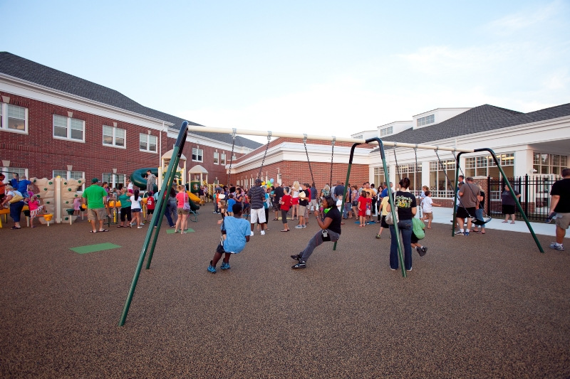 Play Area at Old State Elementary School, Townsend, DE